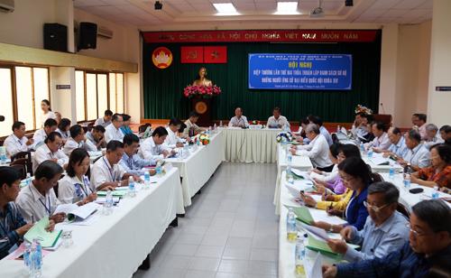 Ông Đặng Thành Tâm, Hoàng Hữu Phước tự ứng cử đại biểu Quốc hội 1