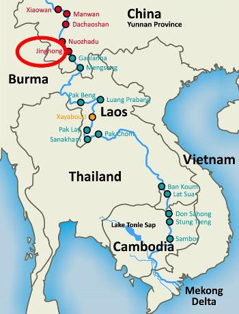 """Ủy ban sông Mekong: """"Ít nhất 2 tuần nước từ Trung Quốc mới về Việt Nam"""" 2"""