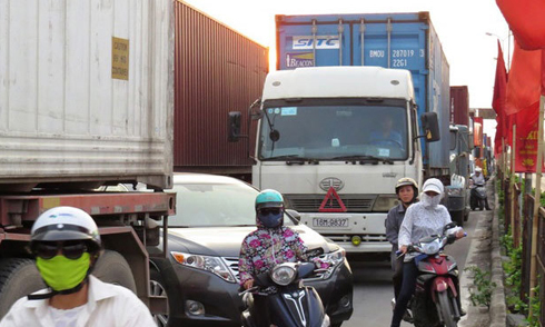 Doanh nghiệp vận tải than khó vì đường Hà Nội - Hải Phòng tăng phí