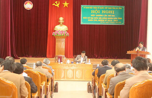 Bí thư Hà Tĩnh rút khỏi danh sách ứng cử đại biểu Quốc hội 1