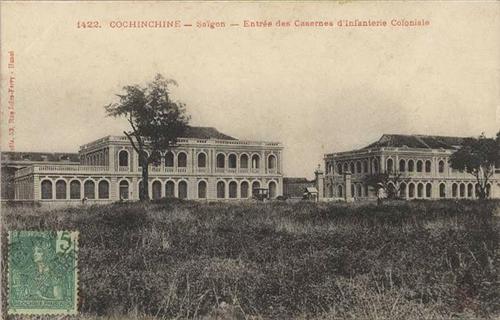 Dấu tích thành cổ hơn 140 tuổi giữa trung tâm Sài Gòn 1