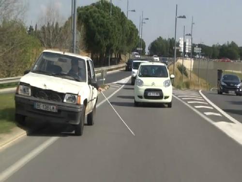 Khi người mù lái ôtô? 1