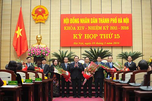 Hà Nội có 3 phó chủ tịch mới 2