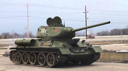 Tăng T-34 - vũ khí bẻ gãy cuộc xâm lược Liên Xô của phát xít Đức 1