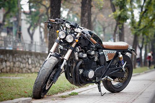 Yamaha XJR400 - cafe racer của kỹ sư tin học Hà Nội 1