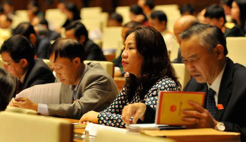 Quốc hội cho ý kiến về báo cáo công tác nhiệm kỳ của Thủ tướng 1