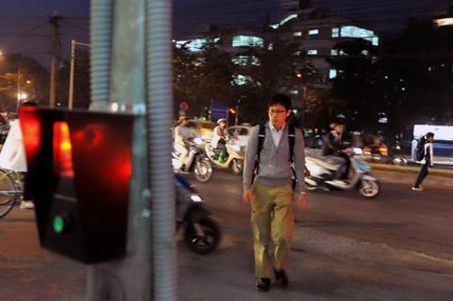 Chip đầu tiên của Việt Nam được ứng dụng làm đèn giao thông 1