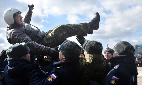 Sứ mệnh Syria làm sống dậy niềm kiêu hãnh của quân đội Nga 2