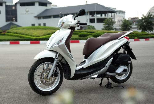 Piaggio Medley cạnh tranh SH125i bằng gì tại Việt Nam? 1