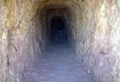 """Bí thư huyện đào xuyên núi để """"làm hầm rượu"""" 1"""