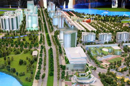 4 trục đường chính khu đô thị Thủ Thiêm sắp hoàn thành 2