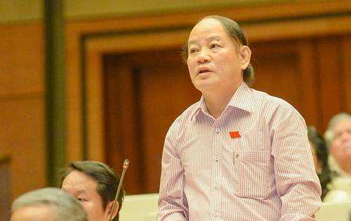 """Đại biểu Huỳnh Nghĩa: """"Đọc báo cáo kiểm điểm thấy hồng phúc cho dân"""" 1"""