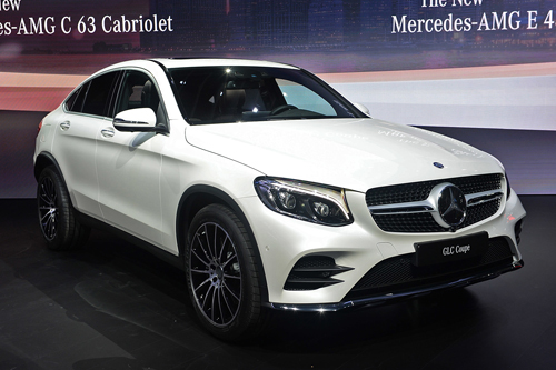 01 2017 mercedes benz glc coup 3829 3280 1458784443 Mercedes GLC Coupe   Mẫu crossover phát triển từ GLC