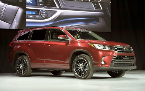 Toyota Highlander 2017 lắp động cơ mới 1