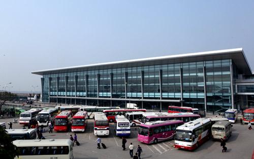 Mở 3 tuyến xe khách từ trung tâm Hà Nội đi sân bay Nội Bài 1