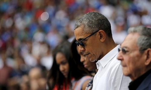 Xem bóng chày sau vụ đánh bom Bỉ, Obama khiến khủng bố chưng hửng 1