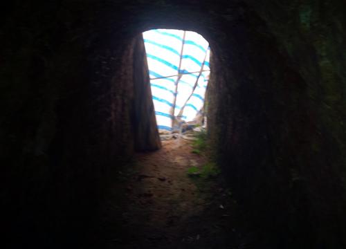 Bí thư huyện có thể bị phạt vì đào núi 'làm hầm rượu'