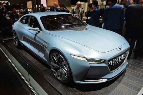Genesis New York concept - xe Hàn đối thủ Mercedes C-class 1