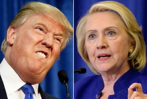 Trump và Clinton chật vật chiếm trái tim cử tri Mỹ 1