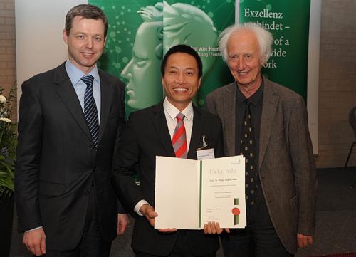 Hai nhà khoa học Việt nhận giải thưởng danh giá của Đức 1