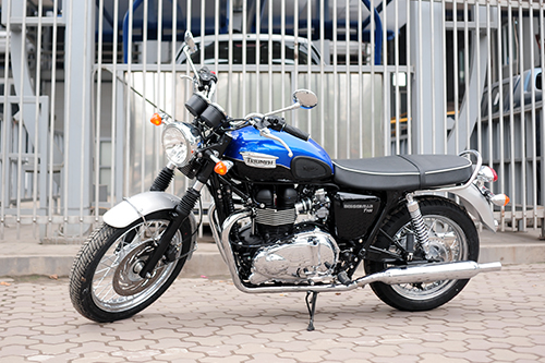 Bonneville T100 2016 7 3739 1458928997 Triumph Bonneville T100   Mẫu xe hoài cổ phiên bản mới của Anh quốc