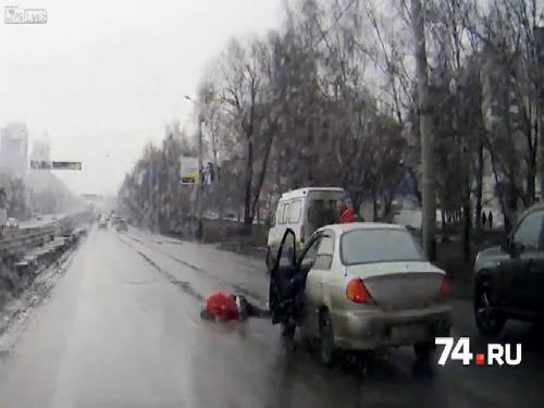 Hai lần lao vào xe hơi tự tử 1
