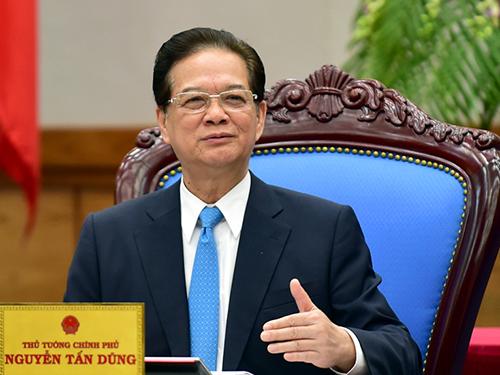 Thủ tướng phát biểu từ biệt thành viên Chính phủ 1