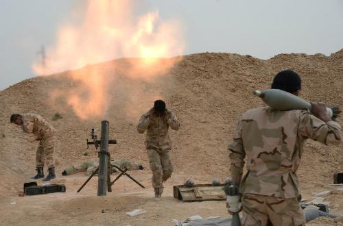 Thắng lợi ở Palmyra thắt chặt thòng lọng quanh cổ IS 3