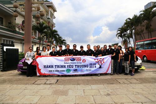 Chiến dịch chia sẻ tình yêu của Subaru Việt Nam 3