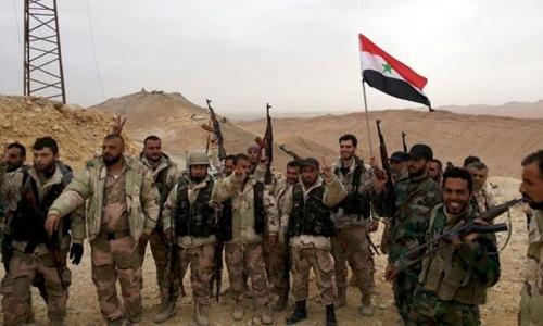 Thắng lợi ở Palmyra thắt chặt thòng lọng quanh cổ IS 1