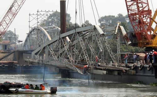 Đồng Nai xin đưa phần cầu Ghềnh chưa sập vào bảo tàng 2
