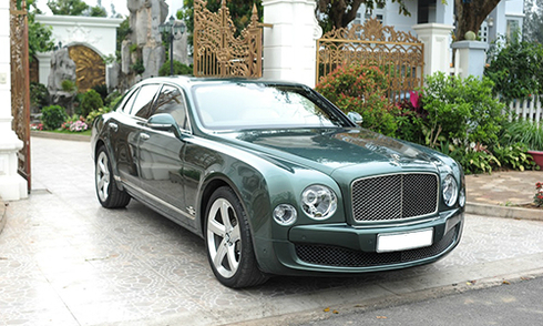 Bentley Mulsanne Speed 2016 - giấc mơ quý tộc tại Việt Nam