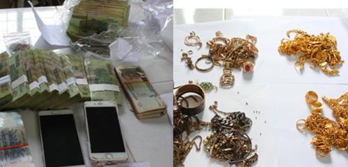BĐBP An Giang bắt vụ vận chuyển trái phép tiền, vàng qua biên giới