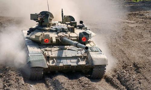 Số phận tăng T-90 Syria trúng đòn trực diện của tên lửa TOW 2