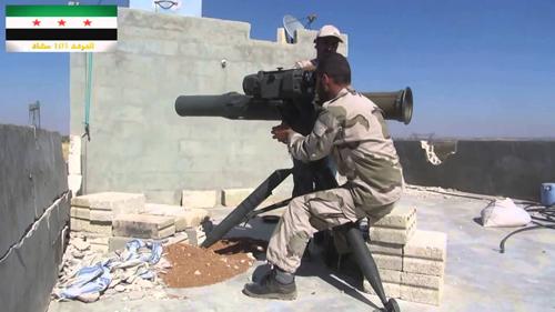 Số phận tăng T-90 Syria trúng đòn trực diện của tên lửa TOW 3