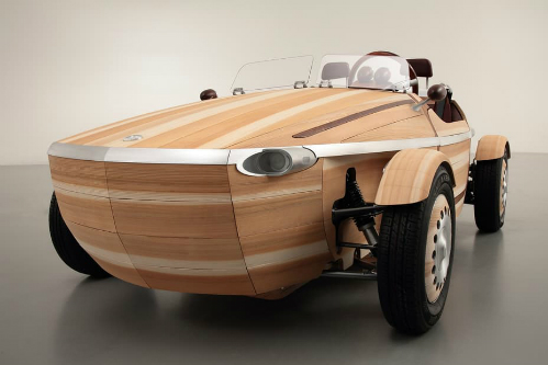 Xe hơi bằng gỗ - kiệt tác của Toyota 1