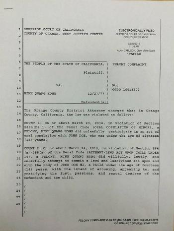 Cách giấu tên nạn nhân trong bản cáo trạng truy tố Minh Béo 1