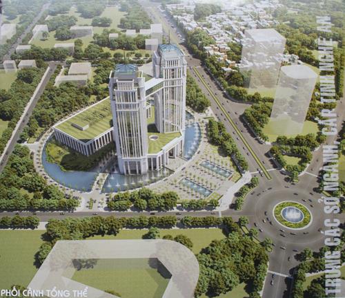 Chính phủ yêu cầu Nghệ An dừng xây trung tâm hành chính nghìn tỷ 1