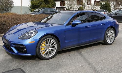 Porsche Panamera thế hệ mới lộ diện đầy đủ 1