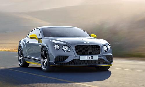 Bentley Continental GT Speed 2016 tăng sức mạnh 1