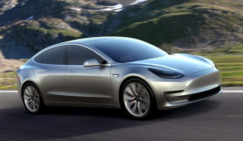Tesla Model 3 - ôtô điện mới giá 35.000 USD 1