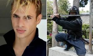 Chàng trai Mỹ thành ninja ngoại quốc đầu tiên được thuê ở Nhật