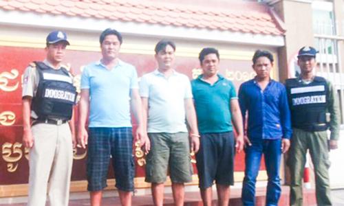 Campuchia bắt 4 người nghi là ngư dân Việt