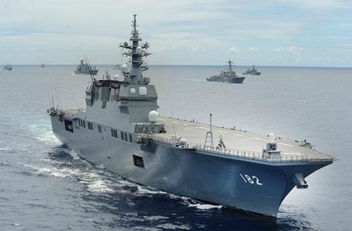 Khả năng săn ngầm của khu trục hạm Nhật tham gia diễn tập ở Indonesia 1
