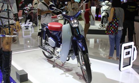 Honda Super Cub Concept lần đầu đến Việt Nam 1