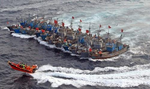 """""""Ngư dân xanh"""" Trung Quốc - hiểm họa trên Biển Đông 1"""