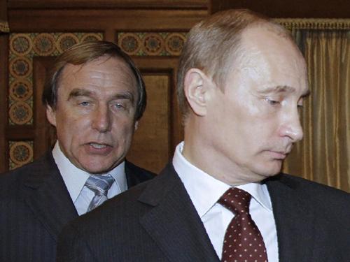 Tổng thống Putin vànghệ sĩ cello Sergei Roldugin