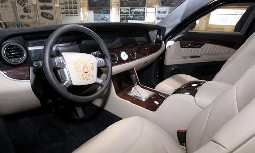 Kortezh - limousine mới của tổng thống Nga Putin 2