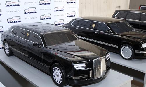 Kortezh - limousine mới của tổng thống Nga Putin 1