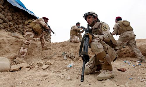 Đội quân chống IS chưa đánh đã chạy của Iraq 3